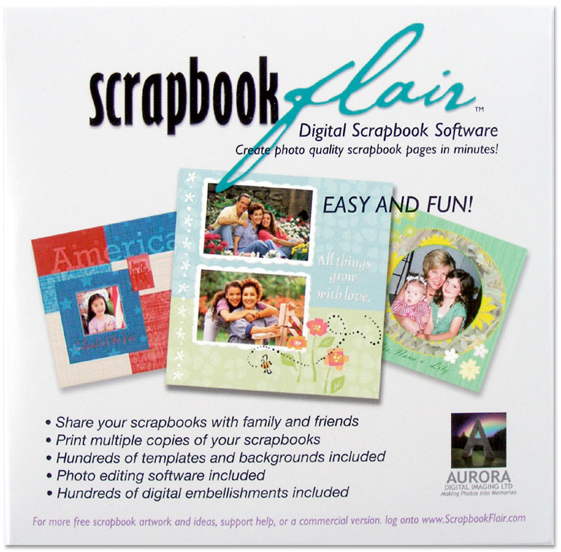 Scrapbook Software | Free Digital Scrapbooking Software