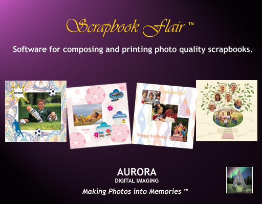 Free scrapbooking software helps you design, print and share your scrapbooks.