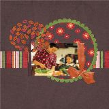 86 FREE Thanksgiving Digital Scrapbook Collections PLUS Save 25% on Cards!