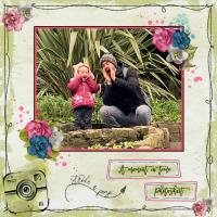 SIENNA WITH DADDY