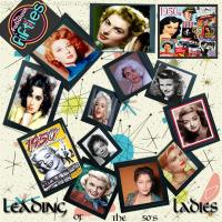 LEADING LADIES OF THE 50'S
