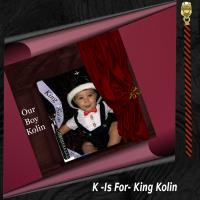 K- Is For King Kolin