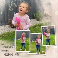 SIENNA BLOWING BUBBLES