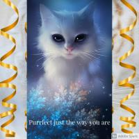 Purrfect just the way you are