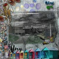 Most Recent Upload - Beach Huts - old and new