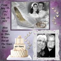 Our 60th. Anniversary.