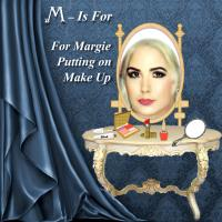 M-Is For Margie With Makeup.